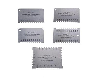 Yaş film kalınlık ölçüm tarakları-BGD531