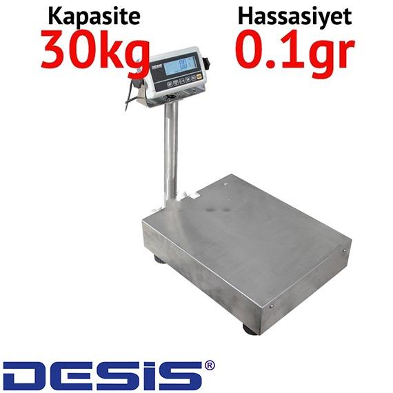 Desis RWP Dijital Boya Terazisi - Hassasiyet: 0.1 gr. Max: 30 kg.