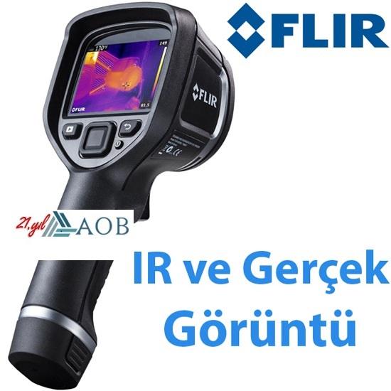 AOB FLIR E4 Termal Kamera Sıcaklık ve Su Kaçağı Tespit Cihazı