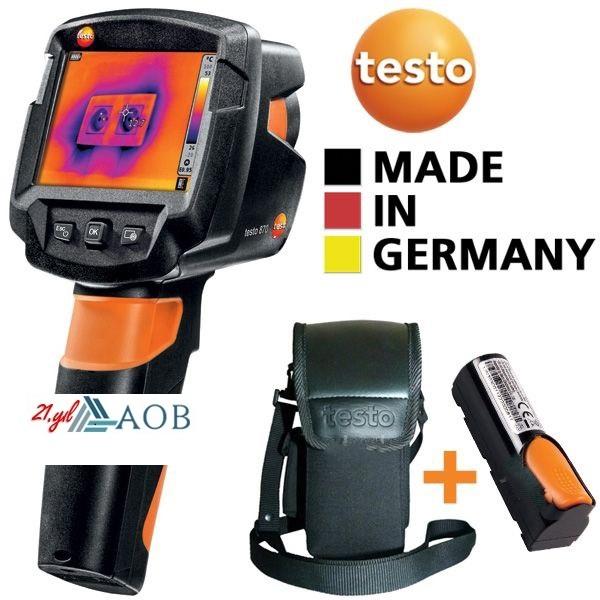 AOB Testo 870-1 (Çantalı+Yedek Bataryalı Set) Termal Kamera
