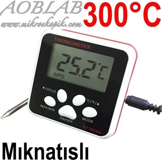 AOB DT 1004A Dijital Fırın Termometresi