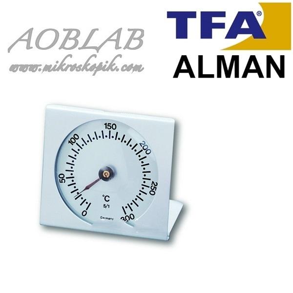 AOB TFA 14.1004.60 İbreli Fırın İçi Termometre