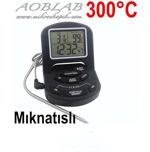 AOB FRN-65 Dijital Fırın Termometresi