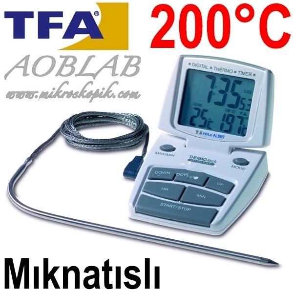 AOB   TFA 14.1500 Dijital Fırın Termometresi