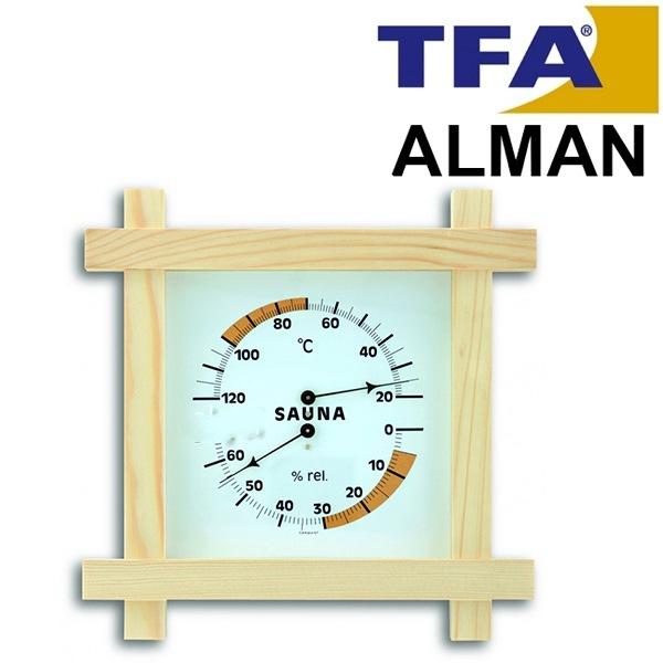 AOB TFA 40.1008 Sauna Sıcaklık ve Nem Ölçer