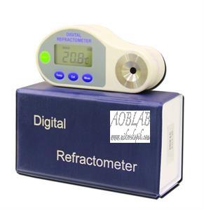 AOB S DBR45 Digital El Tipi Refraktometre-0~ 45% Brix, ATC`li,
